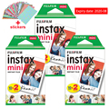 Fuji Fujifilm Instax Mini 9 Film Photo Papers For Instax Mini 9 7s 8 90 70 25 55 Instant Polariod Camera Share SP-2 SP-1 Printer