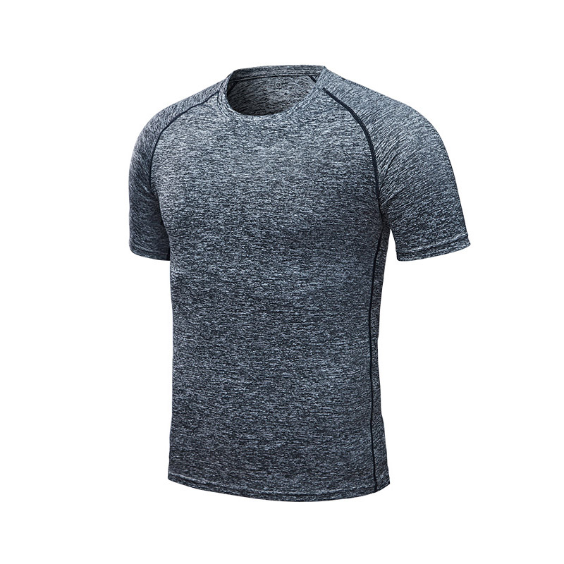 Gray - Men's running T-shirt