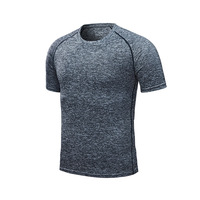 Gray - Men's running T-shirt