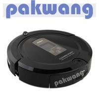 PAKWANG Household Intelligent Vacuum Cleaner SQ A325 Yellow Have 2 IR Sensor Virtual Wall Self Charging