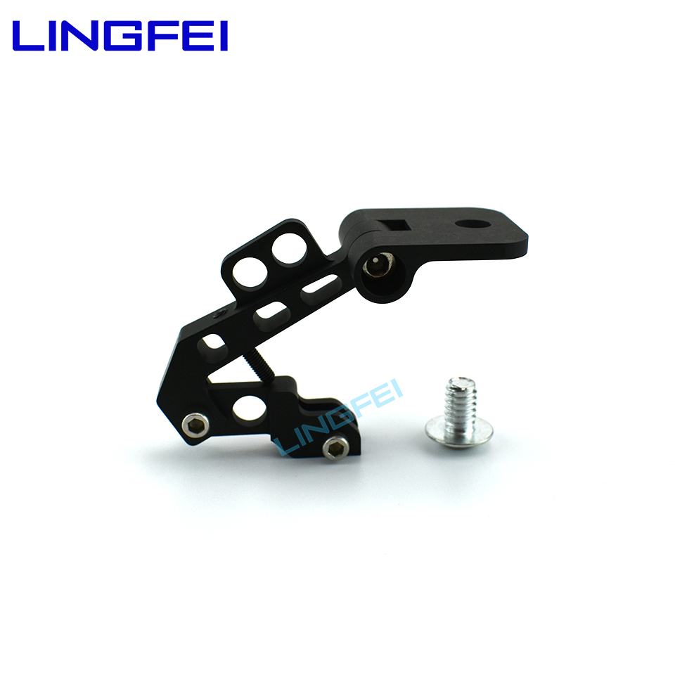 LINGFEi FPV Monitor Mobile Phone Mount Bracket for Remote control Transmitters High precision Aluminum Alloy FPV Holder image