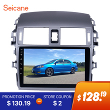 Seicane 2 DIN 9″ Android 6.0  Car Radio Bluetooth GPS Navigation for 2007 2008 2009 2010 Toyota OLD Corolla Support WIFI DAB