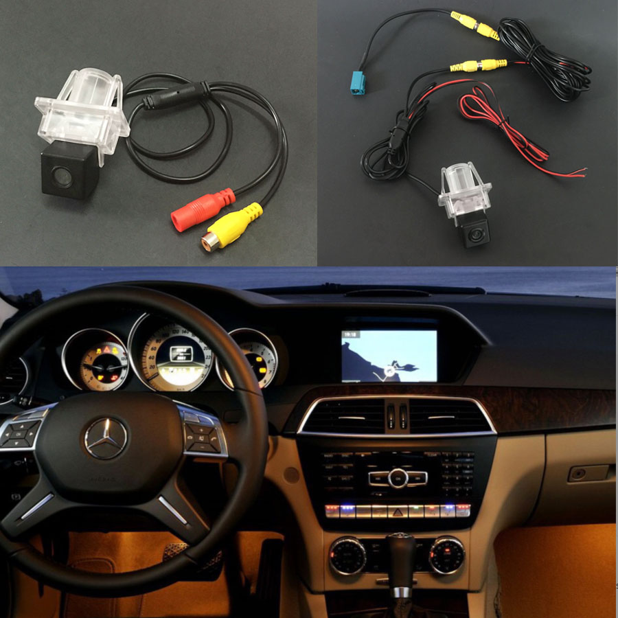 CCD Car Rear View Camera for Mercedes Benz C W204 E W212 W207 2007-2014