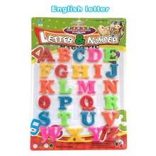 Пластиковые магнитные буквы на английском языке карты пазлы