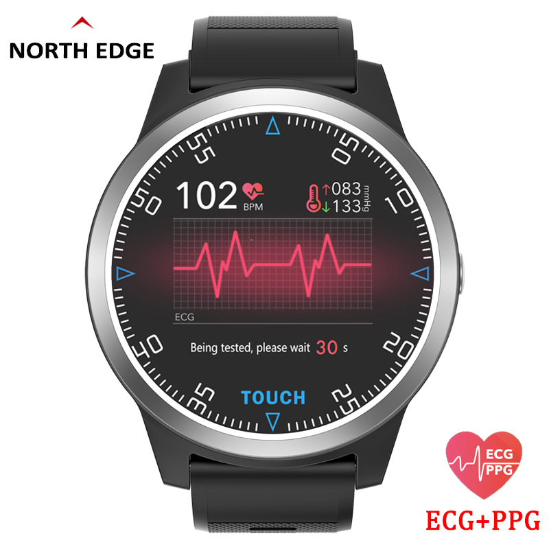 Smart Watch Sport Fitness Activity ECG PPG Blood Pressure Heart Rate Monitor Wristband IP67 Waterproof Band