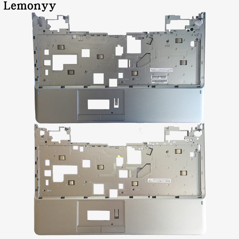 NEW laptop upper case shell for samsung NP350V5C NP355V5C 350V5C 355V5C Palmrest COVER light blue/sliver color original new laptop palmrest for acer for aspihe es1 es1 512 top cover c cover shell