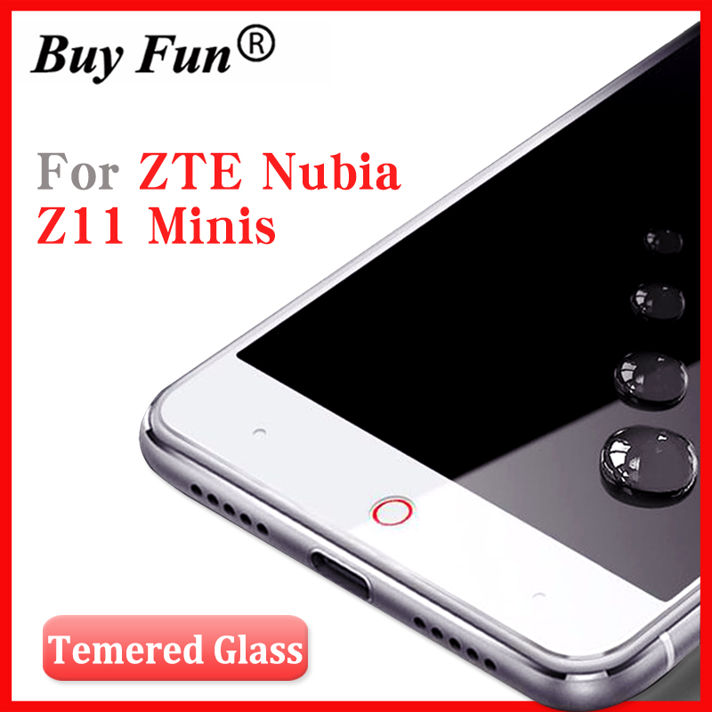 For <font><b>ZTE</b></font> <font><b>Nubia</b></font> Z11 <font><b>mini</b></font> <font><b>S</b></font> tempered glass For <font><b>ZTE</b></font> <font><b>Z</b></font> <font><b>11</b></font> <font><b>mini</b></font> <font><b>s</b></font> full cover Color Anti-Explosion Screen Protector Film Guard 5.2