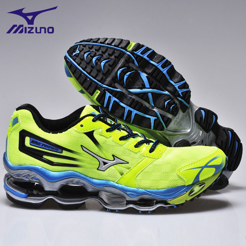 MIZUNO WAVE Prophecy 2 professional Men Shoes Mesh Breathable sneakers Breathable Mesh Weightlifting Shoes 6 Color 40-45