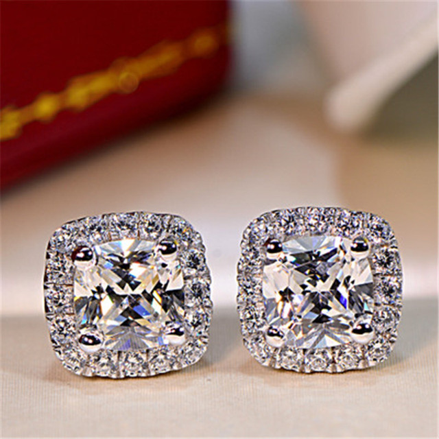 matched fancy jewelsbystar oval on these color diamond best earrings images platinum styled perfectly centers pave feature with studs stud style encircled classically accents in