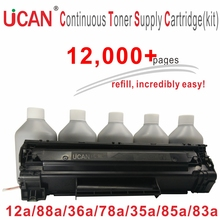 UCAN CTSC(kit) Compatible for HP CE285A CF283A CE278A CB435A CB436A CC388A Q2612A Laser Printer Toner Cartridge