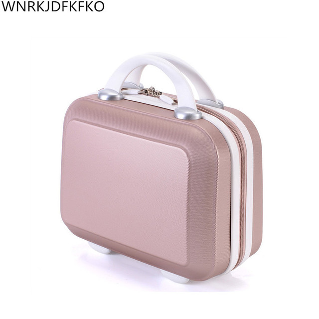 Ladies Cosmetic Case Brand Makeup Artist Professional Beauty Cosmetic Cases Cosmetic Bag Portable Pretty Suitcase