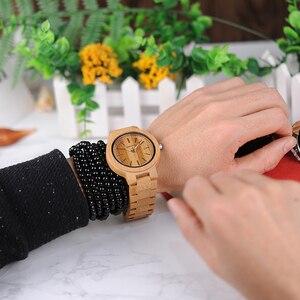 Image 5 - ボボ鳥 LP23 ドロップ無料デザイナー竹木製腕時計男性ステンレス鋼クラスプクォーツレロジオでボックス
