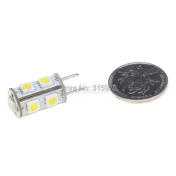 Dimmable GY6.35  1.8W G6.35 Led Bulb Lamp Dimmable  9led 5050SMD 12VDC 180-198LM White Warm White Led Lighting Bulb 1pcs/lot