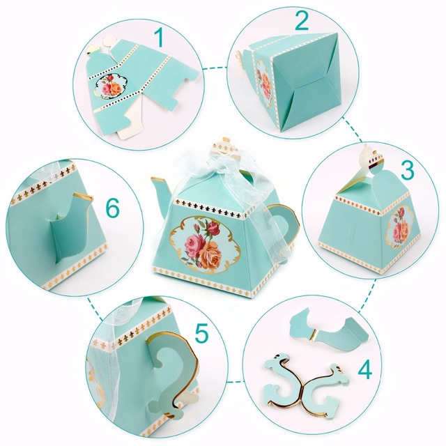 Baby Footprint Laser Cut Out Candy Box (10)