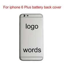 JPFix для iPhone 6 Plus 6+ задняя крышка батарейного отсека чехол для задней части телефона средняя панель Замена с лотком и держатель батареи