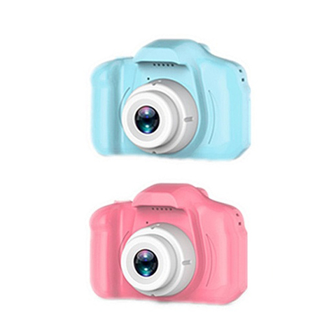 Photography DC500 Full Color Mini Camera for Children Kids Cute Camcorder Video Child Cam Recorder Digital Camcorders Blue/Pink Lahore