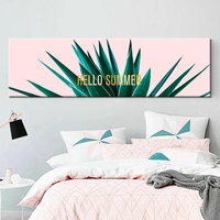 Aloe Cactus Wall Art Canvas Painting Green Plants Nordic Posters And Prints Canvas Pictures For Living Room Bedroom