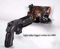 PG-9057 Game Controller Negro Precisión Tiro Pistola para PS3 MOVE Motion Controller para Sony PS3 Juego de Disparos de iPhone 6 s plus