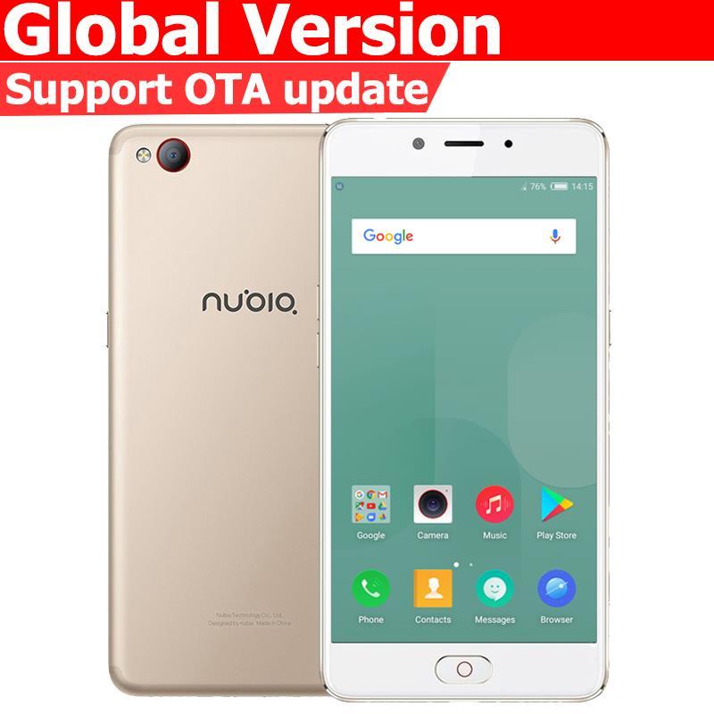 Original Nubia N2 4G LTE Mobile Phone MT6750 Octa Core 5.5 inch Front 16.MP Rear 13.0MP 5000mAh Fingerprint ID