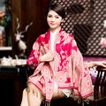 Outono e inverno de impressão estilo étnico algodão lenço xaile mulher quarto com ar condicionado quente de verão protetor solar longo lenço com borla