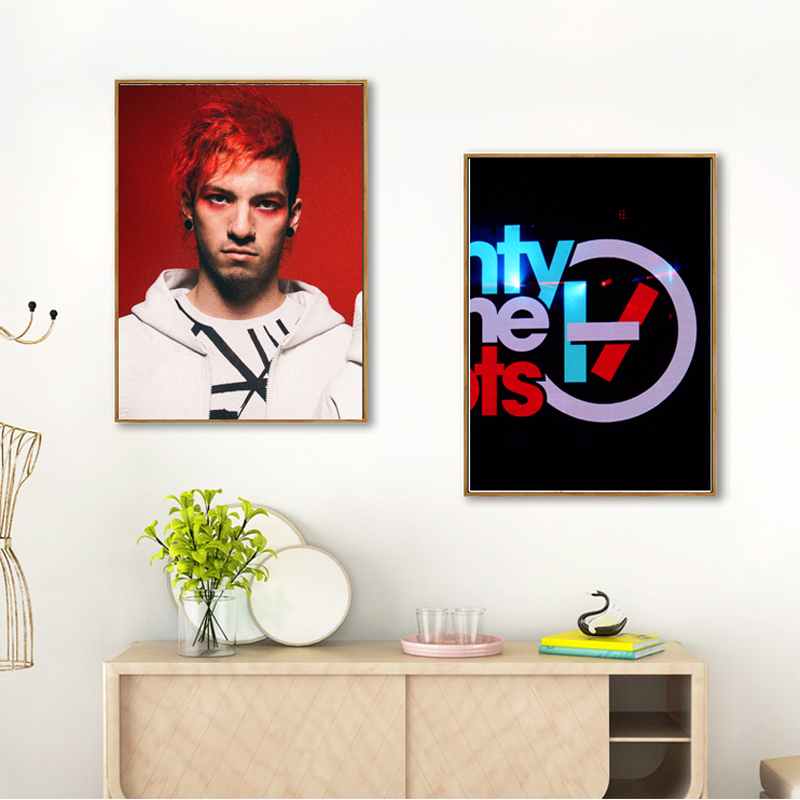 Twenty-one-pilots-Canvas-painting-posters-and-prints-art-print-portal-picture-abstract-painting-naruto-kids-decoration-castelli 7