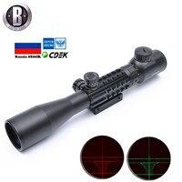3-9x40EG оптический охотничий прицел с красной/зеленой подсветкой для пневматической винтовки оптика охотничий снайперский оптический прицел...