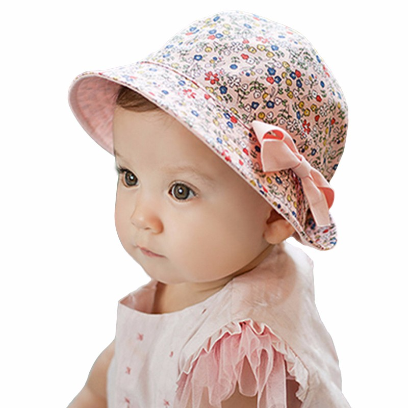 fcf1b40fbd454 2019 2017 Fashion Baby Girl Hats Summer Two Sided Cap Hat Infant ...