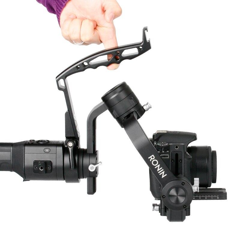 Estilingue DSLR Gimbal Handle Handy Grip para DJI Ronin Ronin S SC ZHIYUN Guindaste 2 Plus Handheld Cardan Estabilizador