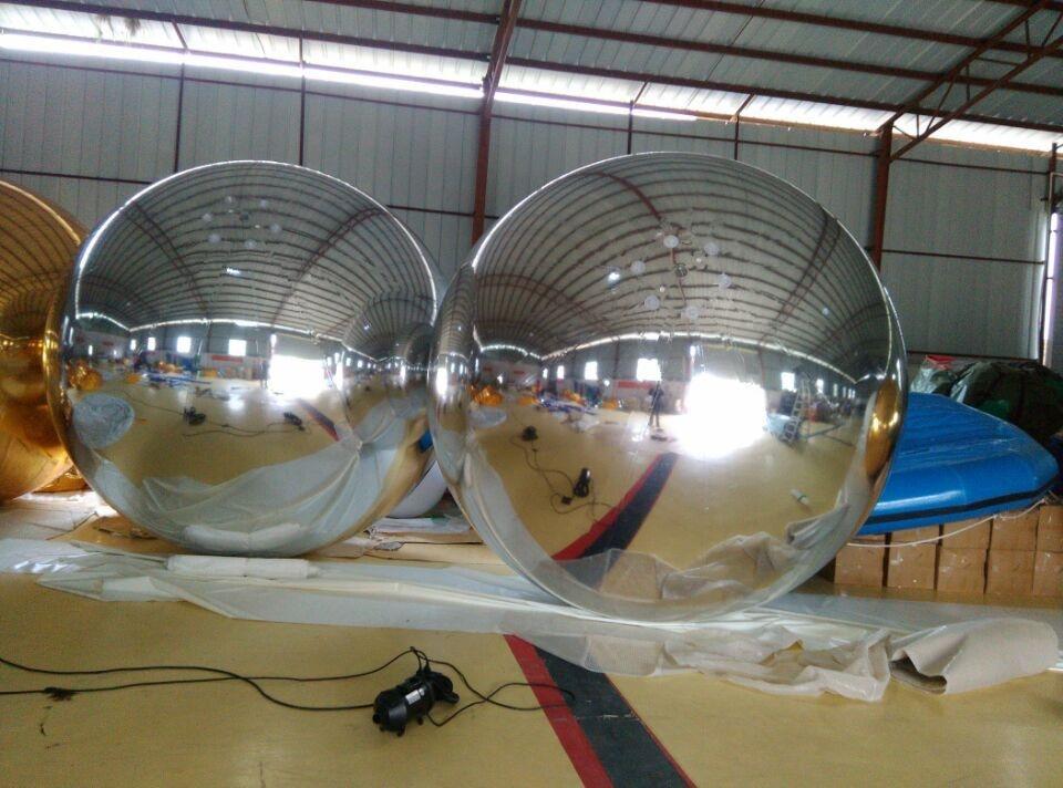 Ролорфул Зрачна куглица на напухавање Популарна украсна кугла за надувавање огледала са фабричком ценом