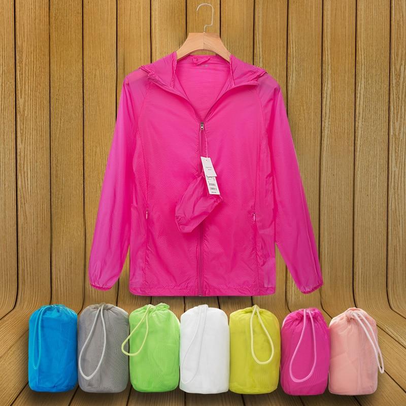 Letní opalovací oděvy Dámské sluneční ochranné bundy velké velikosti Ženy Neformální nepromokavá bunda Super tenká uv zipová bunda kabátu