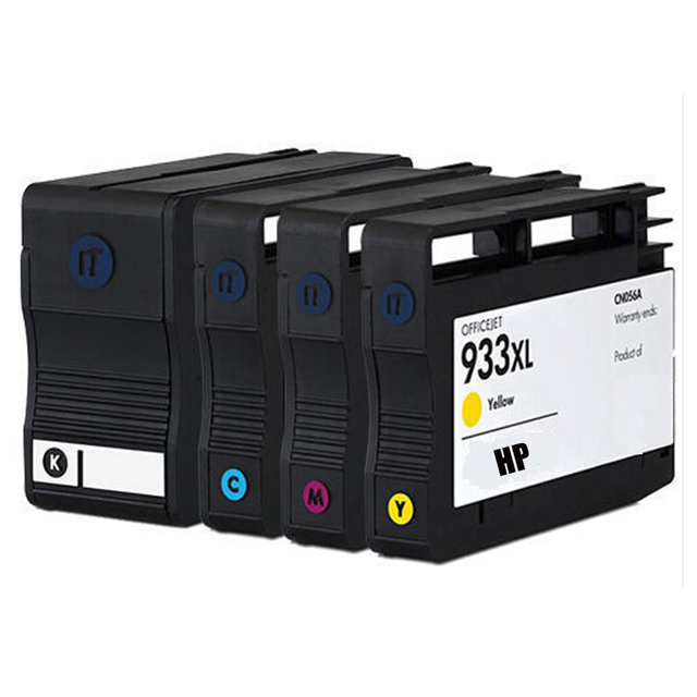 1 компл. HP 932 933 XL картриджи для HP Officejet 6100 6600 6700 7110 7610 принтера ( с чипом )