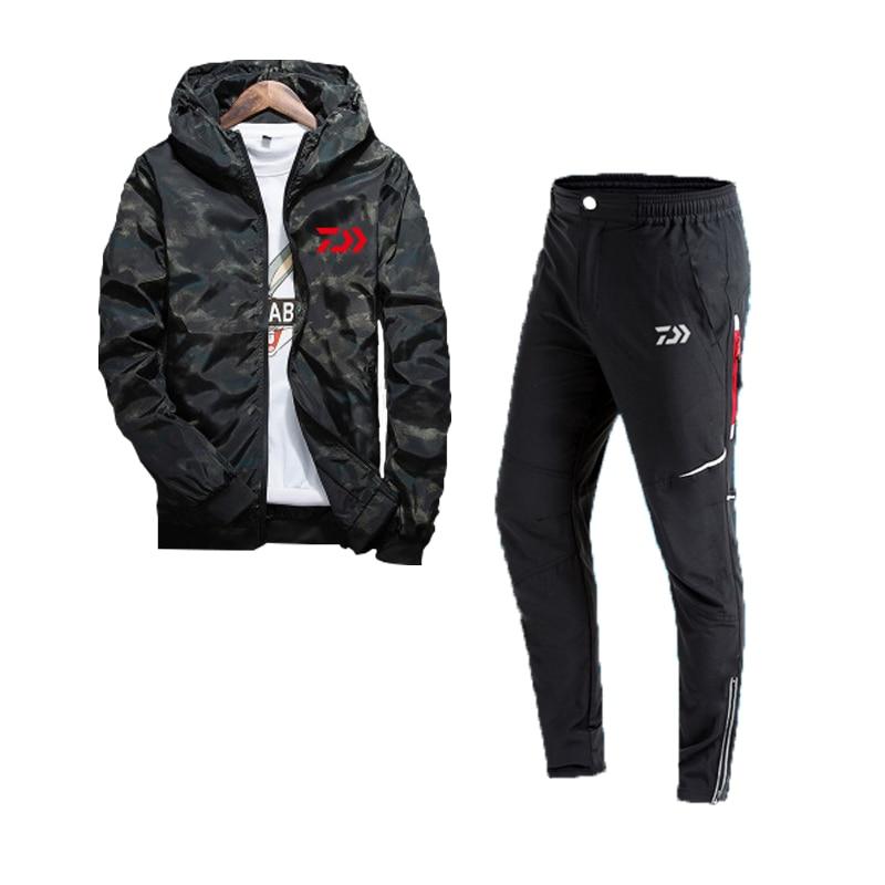 2018 conjuntos de roupas de pesca dos