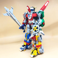 Ideas Series Voltron Defender of The Universe Building Block 2600pcs Bricks Toys Compatible With Legoings