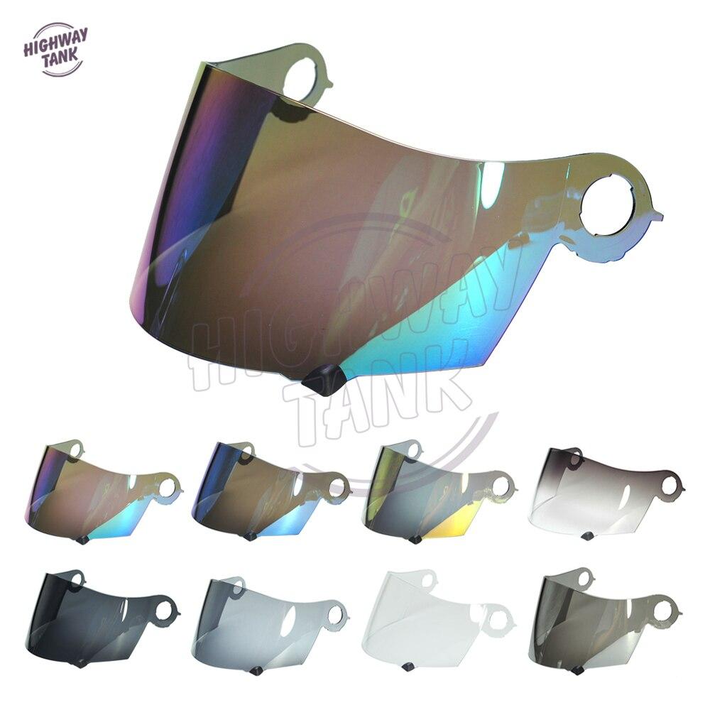 8 couleurs casque de moto visière étui complet pour SUOMY Spec 1R Spec-1R Apex extrême W/or Iridium bleu lentille de fumée
