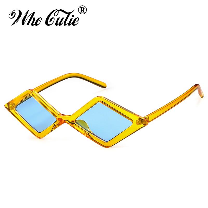 2018 Vintage Rhombus Sunglasses Men Women Retro Brand
