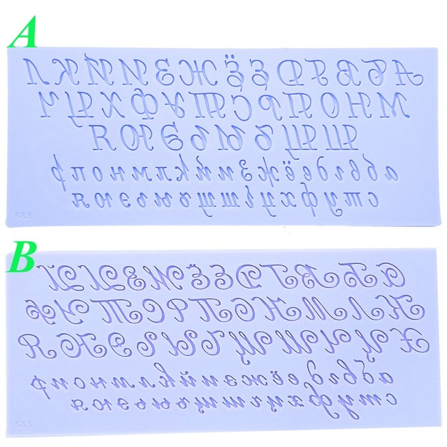 Script Handwriting Alphabet