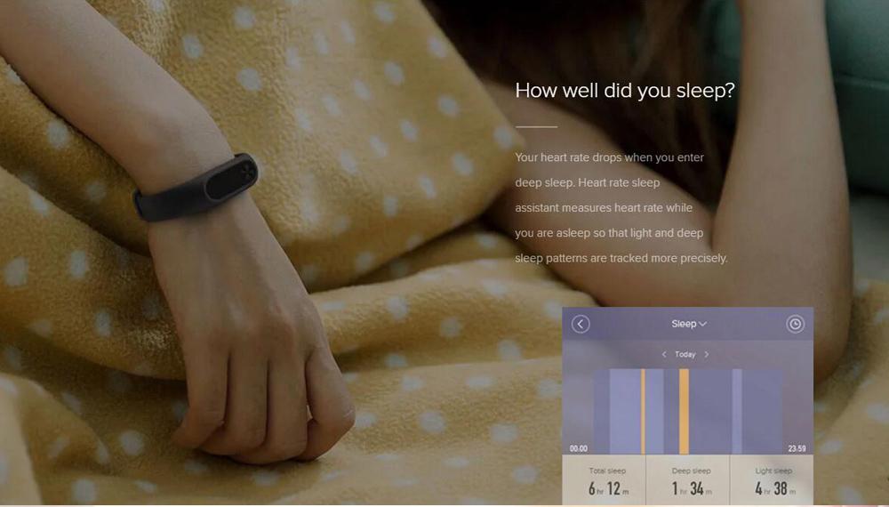 Xiaomi Mi Band 2 Miband 2 Smart Bracelet Wristband Band Fitness Tracker Bracelet Smartband Heart rate Monitor 100% Original (4)