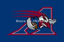 Montreal Alouettes Flag 3ft X 5ft Polyester CFL Montreal Alouettes Banner Flying Size No.4 144* 96cm Custom Flag