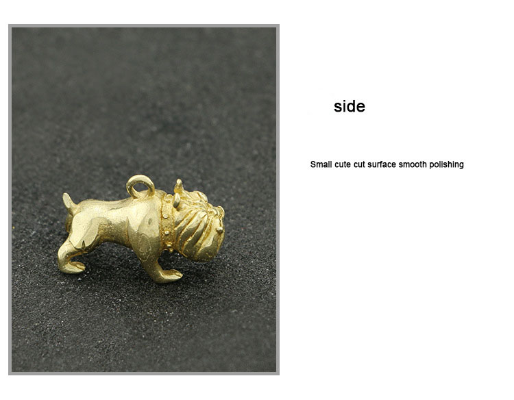 Brass French Bulldog Key Chains  (11)