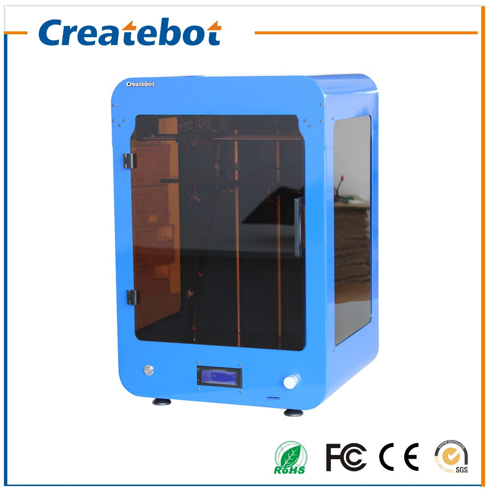LCD FDM Createbot 3D Printer Kit High Accuracy Full Assembled Semi-Auto LevelingLarge Printing Size 280*250*400mm impressora 3d