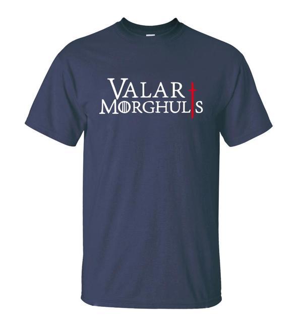 Game of Thrones Valar Morghulis Summer T-shirts
