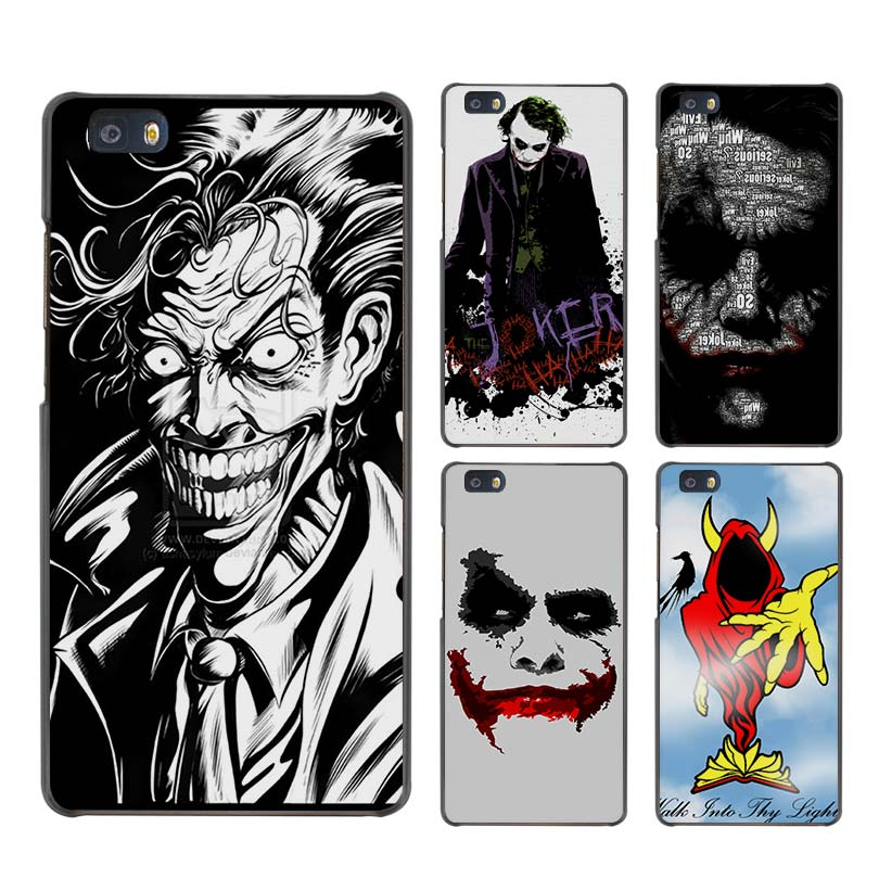 Joker Batman The Killing Joke Hard Case Black Cover Scrub for Huawei P8 P9 Lite Plus P7 Mate S 7 8 9