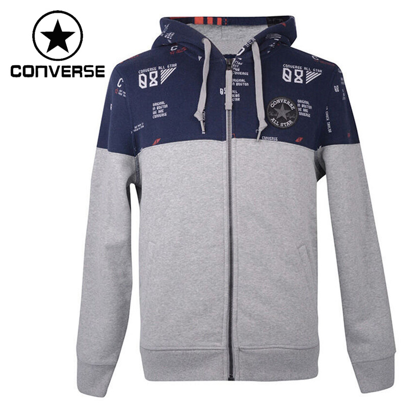 Original New Arrival  Converse Men's Jacket Hooded Sportswear цены онлайн
