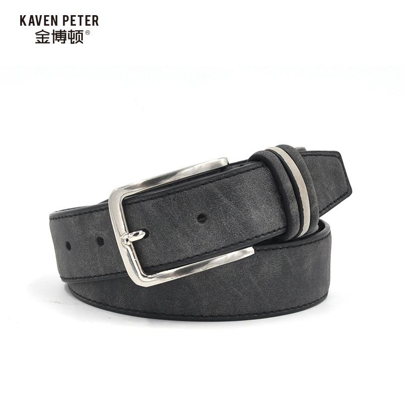 brushed pu leisure belts high fashion belt 2016