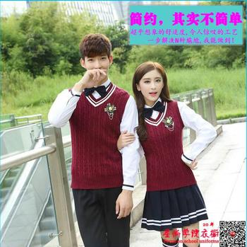 2017 SCHOOL Boy&Girl High school uniform Long sleeve Korean Girl school uniform designs