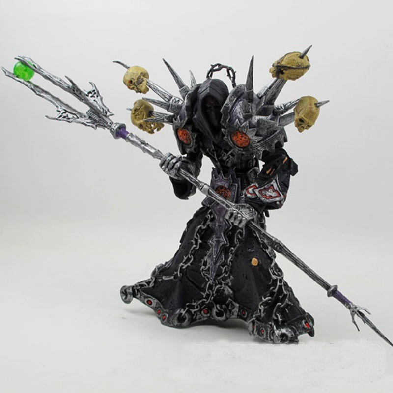 Online Game WOW Series1 Undead Warlock Meryl-Felstrom Toy Figure Figurine Doll PVC Collection 19cm 1