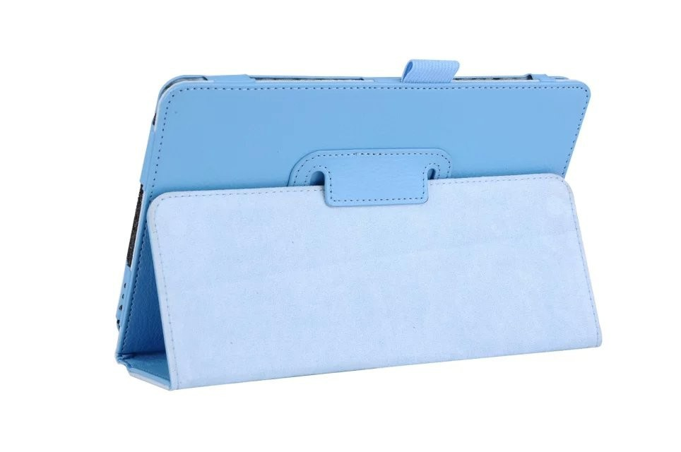 Litchi Leather Case For Samsung Galaxy Tab A 9.7 SM-T550 T555 T550 Folding Flip Shell Stand Cover Christmas Gift