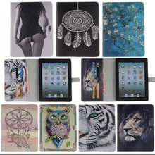 PU Leather Flip Cover For ipad 2 3 4 Protective Case for ipad 2 case for ipad 4 with Stand Tablets & e-Books Cases Y4D33D