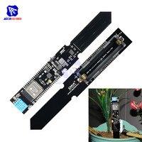 ESP8266 ESP-32 18650 Защита аккумулятора WI-FI Bluetooth DHT11 CP2104 Температура влажность почвы влаги Сенсор модуль для Arduino