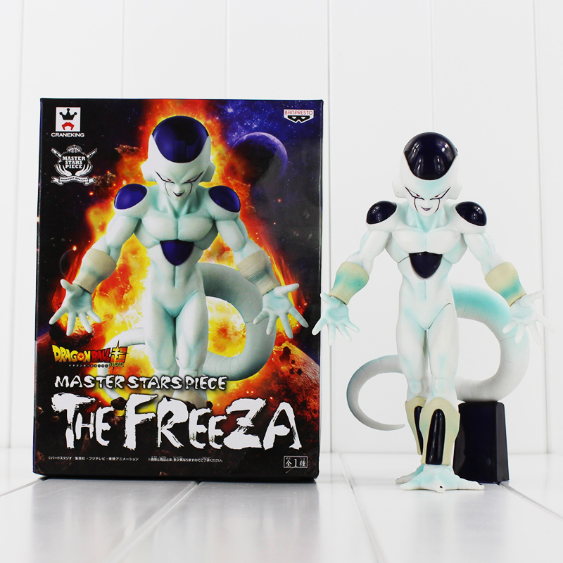 18cm Dragon Ball Super Master Stars Piece The Freeza PVC Action Figure MSP Frieza Anime Juguetes for Children 19cm hot banpresto msp comic anime akira toriyama dragon ball z the freeza frieza freezer final state